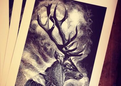 cervo-rocco-lombardi-serigrafia